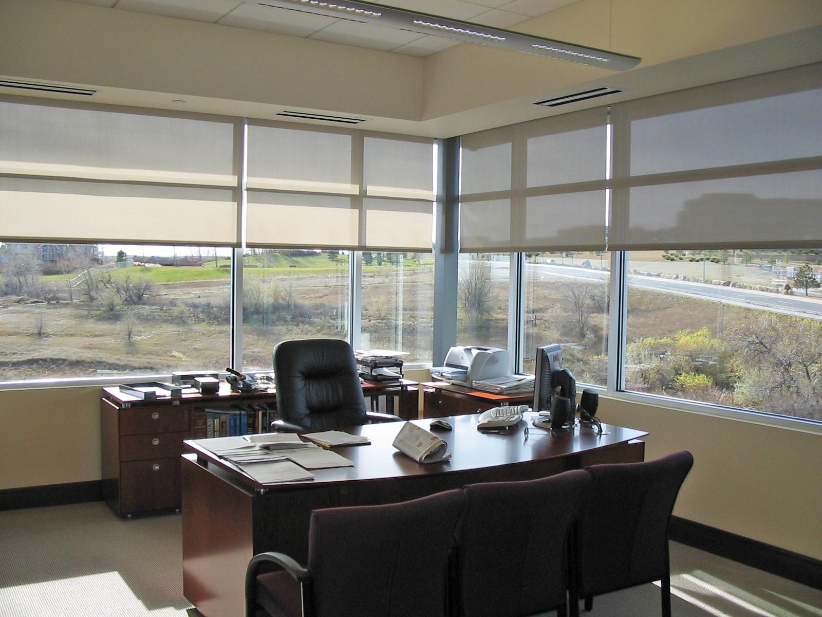 Oc Window Shades Office Roller
